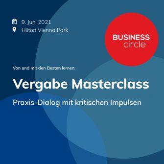 "Business Circle ""Vergabe Masterclass"""