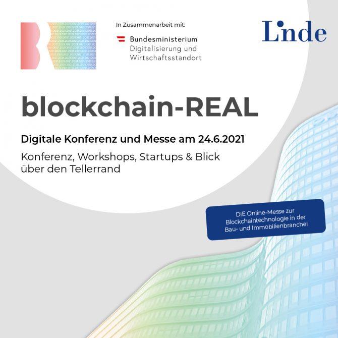Online-Messe blockchain-REAL 2021