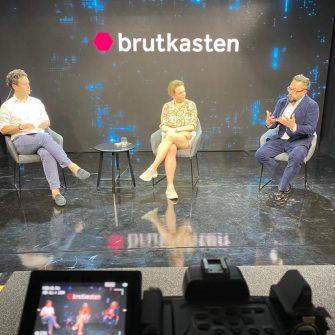 """Behind the Scenes Brutkasten Talk  """"Startups im öffentlichen Sektor"""""""