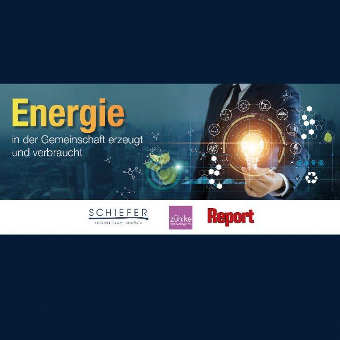 Energie – in der Gemeinschaft erzeugt und verbraucht