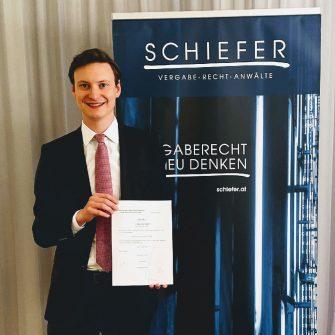 Gratulation an Stefan Tauber